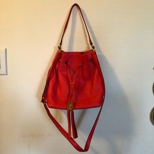Kate Spade Grey Street Cooper Bucket Bag Hot Rose